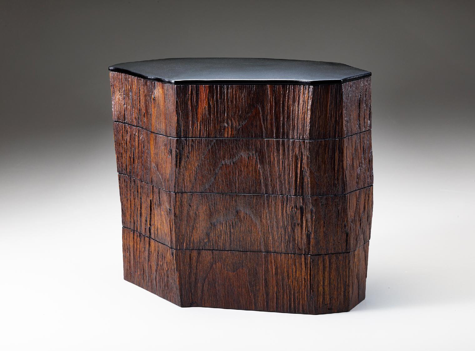 割木四段重箱