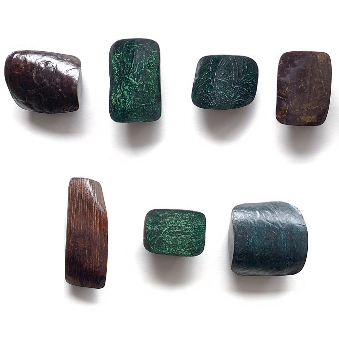 Seven Cubes of Lacquer